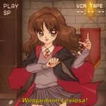 [RETRO] Hermione Granger [HARRY POTTER] by bluethebone