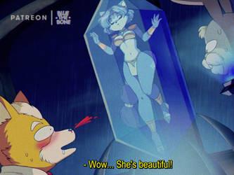 [RETRO] Krystal [STAR FOX] by bluethebone