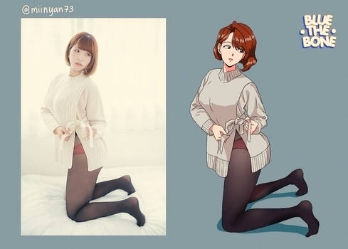 [ILLUSTRATION] Model Practice: @miinyan73