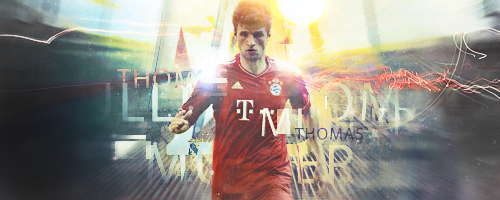 Thomas Muller - Bayern Munich by PowerGFX96