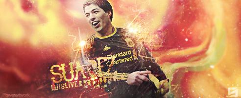 Luis Suarez Liverpool Player by PowerGFX96