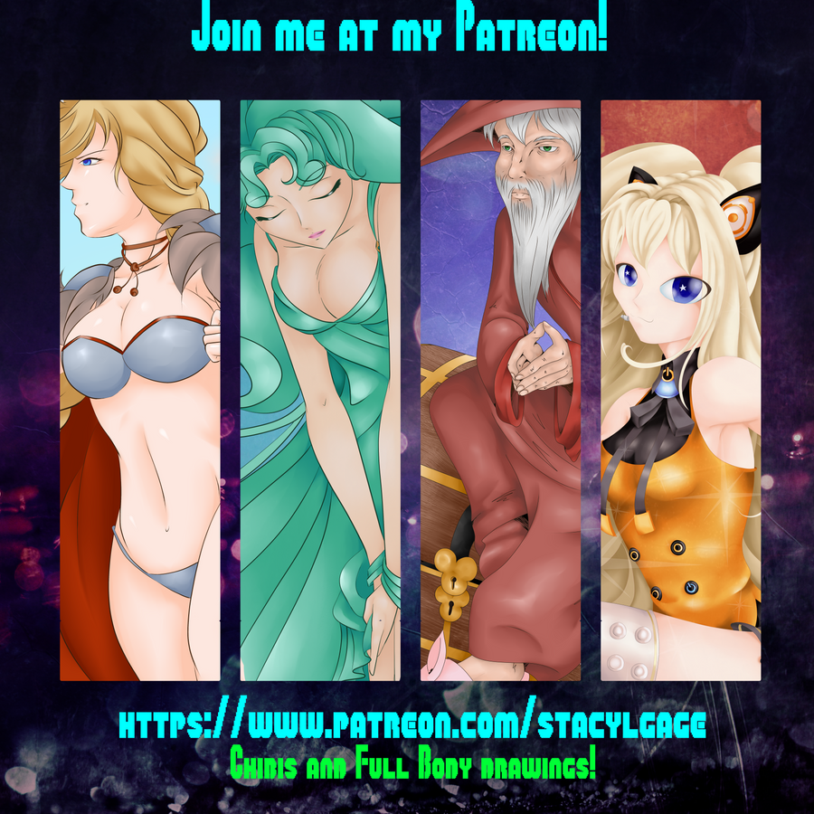 Patreon Logo by Stacy-L-Gage