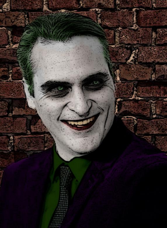 Joaquin Phoenix as The Joker edit by Gertzu77 on DeviantArt
