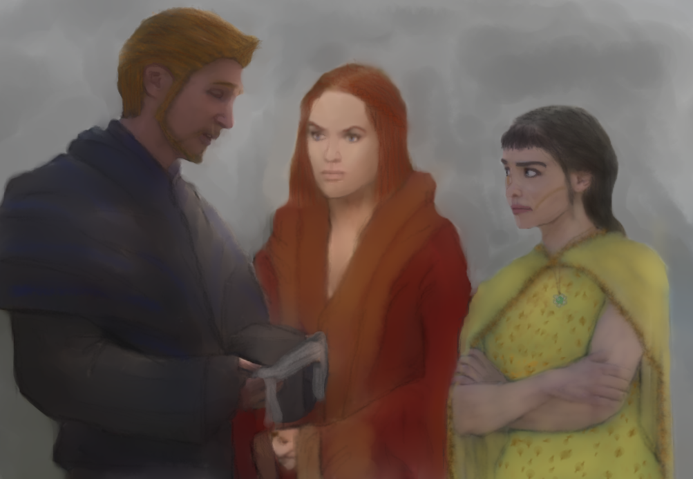 Eilonwy Cousland's Wedding from The Way It Now Is by Musicalrain0