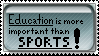 Education Stamp by UnrelatedTalents