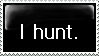 I Hunt Stamp by UnrelatedTalents