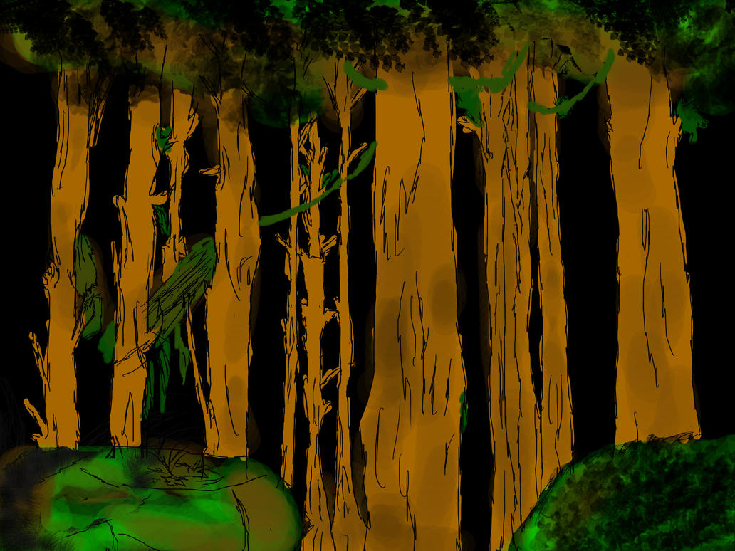 Forest animation background by ShadersHQ on DeviantArt - photo#21