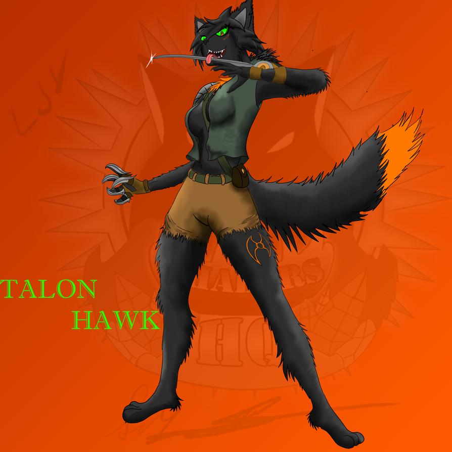 Talon Hawk Redesign by ShadersHQ