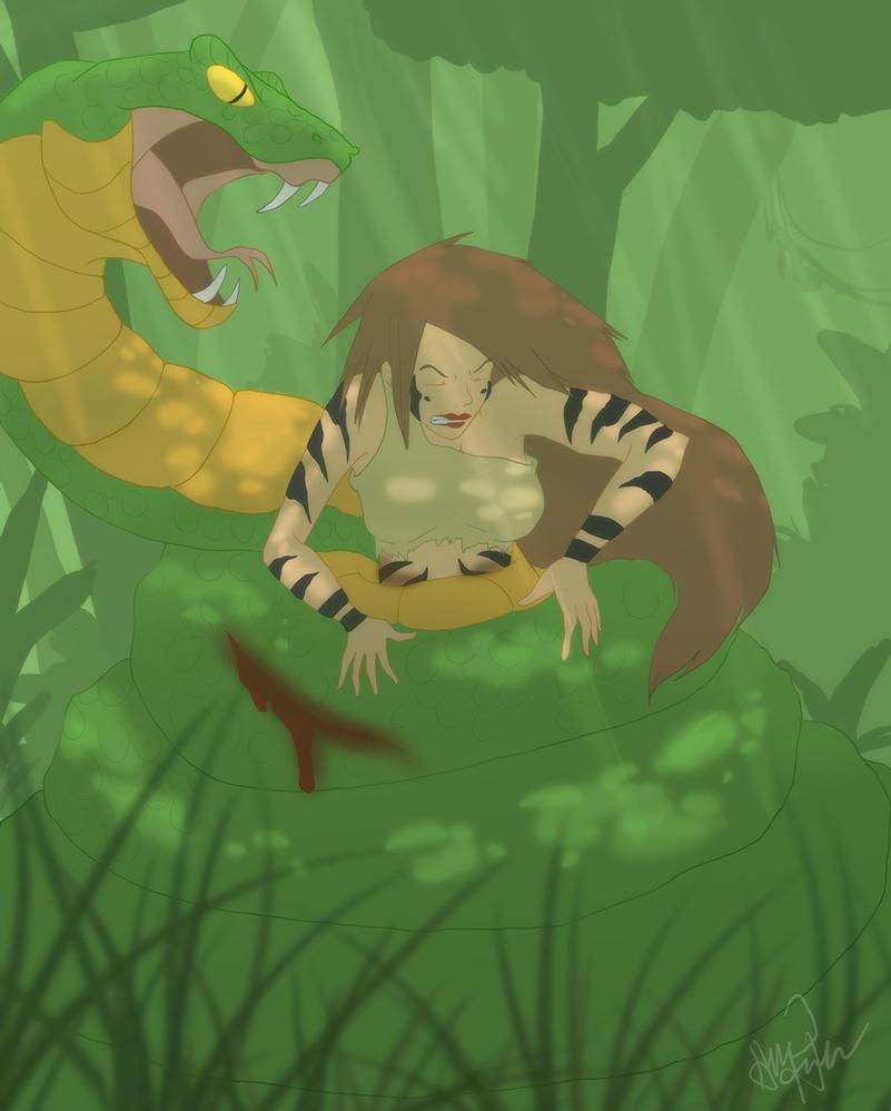 Jungle Girl 2 by Nainu