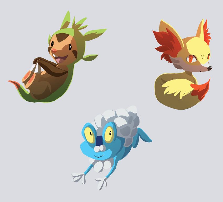 Pokemon Gen 6 by Nainu