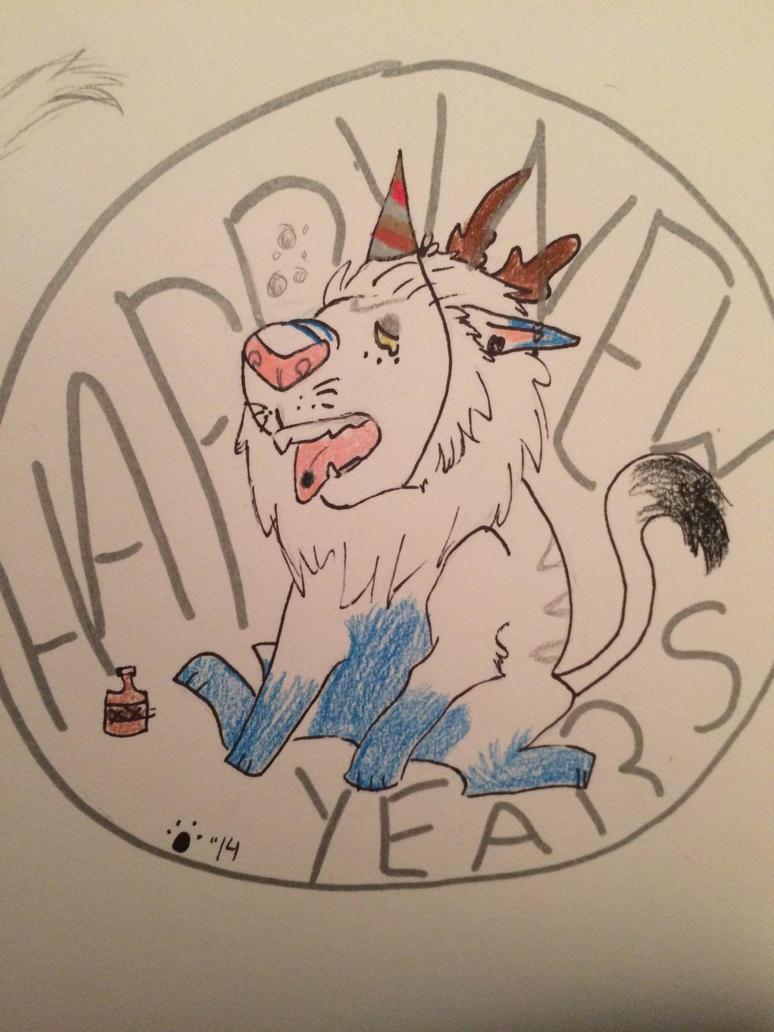 .:HAPPY NEW YEARS:. by WolfSongg