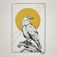 Golden Inktober - 09 Watcher