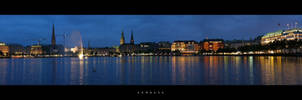 Hamburg by lommo