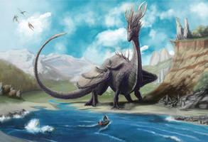 Dragon's Nest (Nido dei Draghi) by MaxSgagna