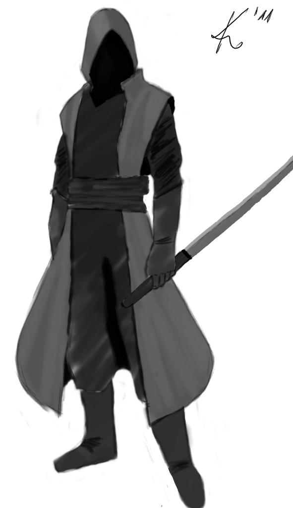 Hooded Assassin by Kazeshini89 on DeviantArt
