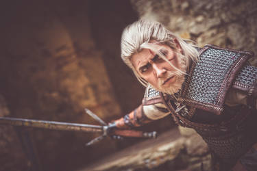 The Sword Dancer/ The Witcher3/ Geralt Cosplay by Blink005
