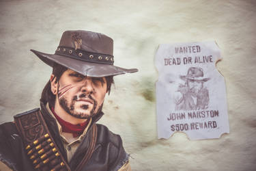 Have you seen this man?/ RDR/ John Marston Cosplay by Blink005