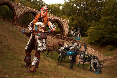 Stand tall/ Horizon: Zero Dawn/ Aloy cosplay by Blink005