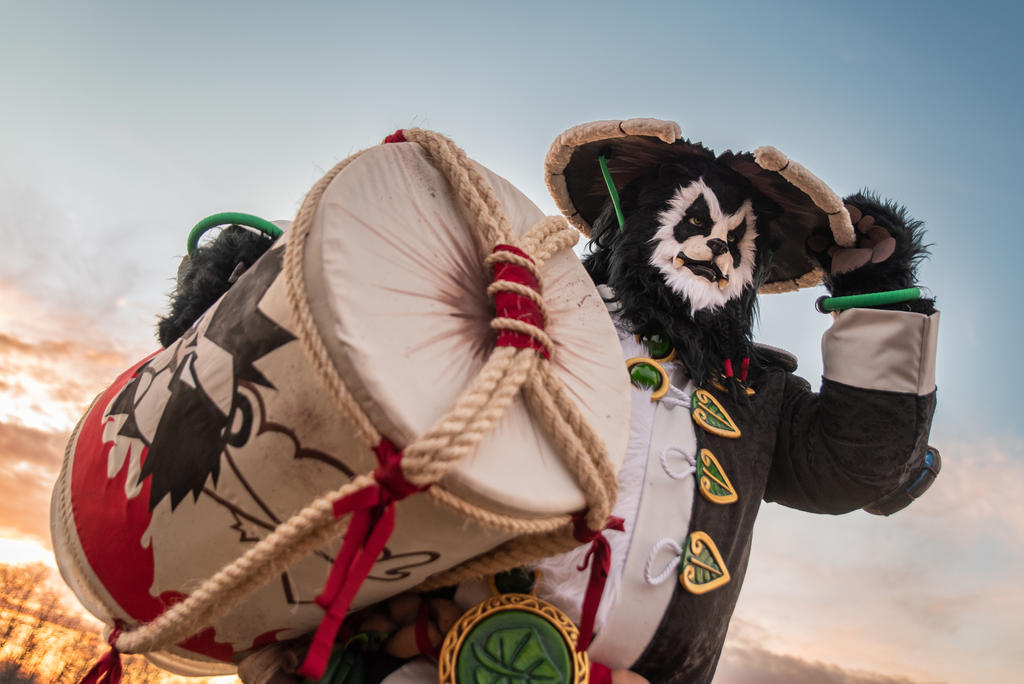 A Bear... in a HAT! / WoW/ Chen Stormstout cosplay