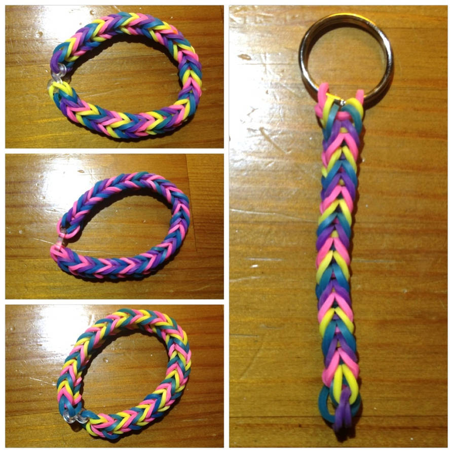 The New Bracelet Trend Made From Rubber Bands By Rachel Pickle
