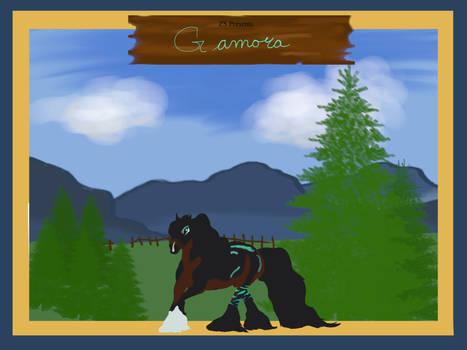 1612 Gamora Azur