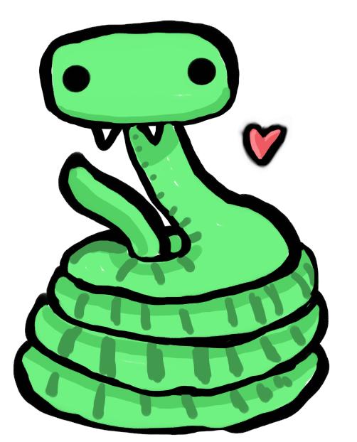 Cute little Snake by insertcutenamehere on DeviantArt