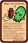 Home-Made Munchkin Cards - Bribe the Monster