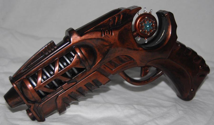 Steampunk Gun II by TimeMaster86
