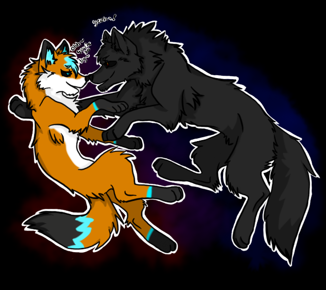 The Fox and The Wolf by Dream-Yaoi