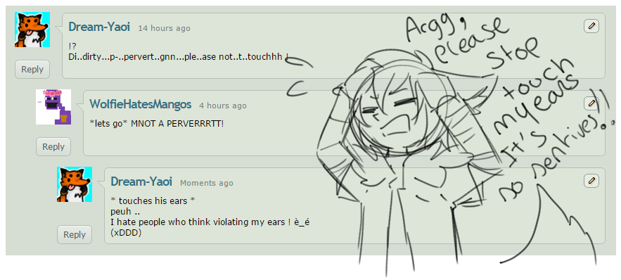 My ears is so sensitives by Dream-Yaoi