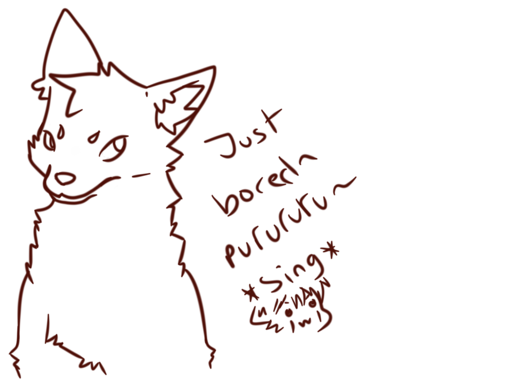 Fox,just Bored Purururu~  by Dream-Yaoi