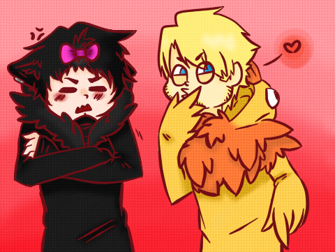 Kyo And Pewds by Dream-Yaoi