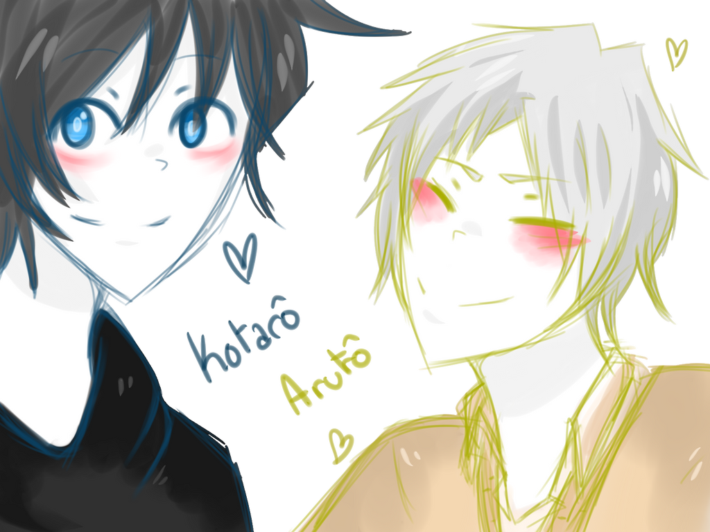 Kotaro and Aruto by Dream-Yaoi