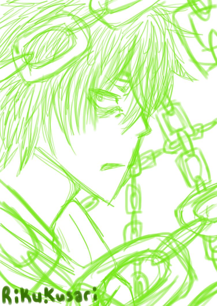 Riku Sketch by Dream-Yaoi