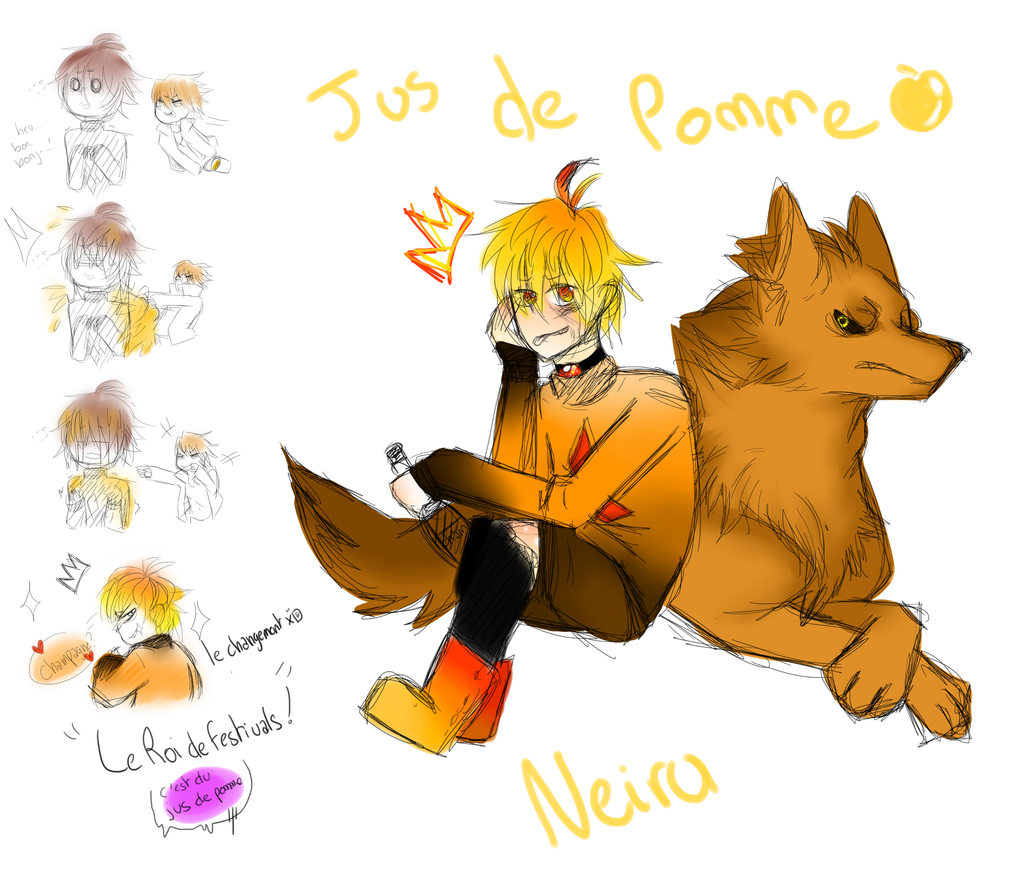 Neiru Jus de Pomme by Dream-Yaoi