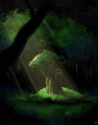 Forest Spirit by Navio-Tantra