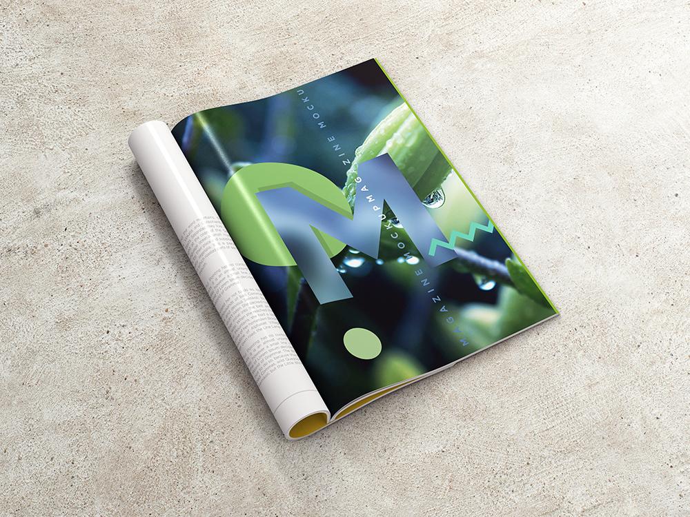 A4 Magazine / Booklet MockUp vol.1 by coloformia