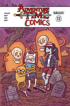 Adventure Time Comics Cover - Issue 11