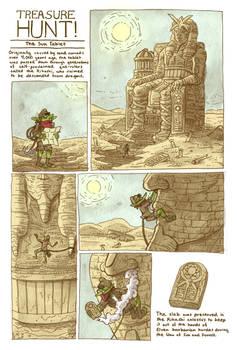 Treasure Hunt! - The Sun Tablet