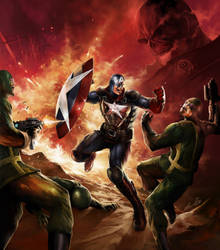 Captain:America by dwinbotp