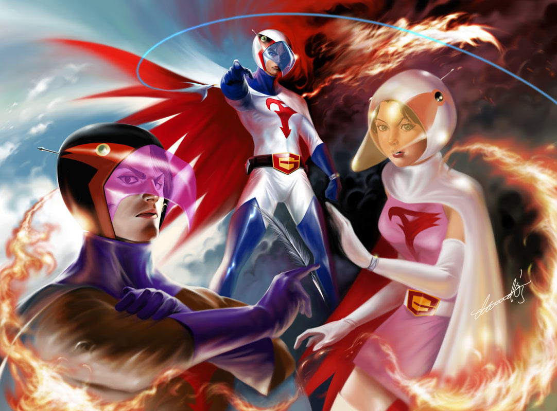 Battle of the Planets Wallpaper