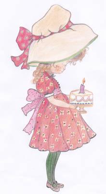 sarah kay birthday cake