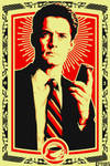 Twin Peaks design for a future painting.