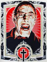 Christopher Lee as Dracula by epyon5