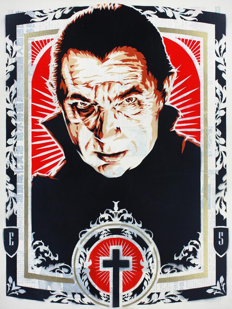 Bela Lugosi as Dracula by epyon5