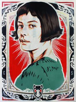 Portrait of Amelie Poulain
