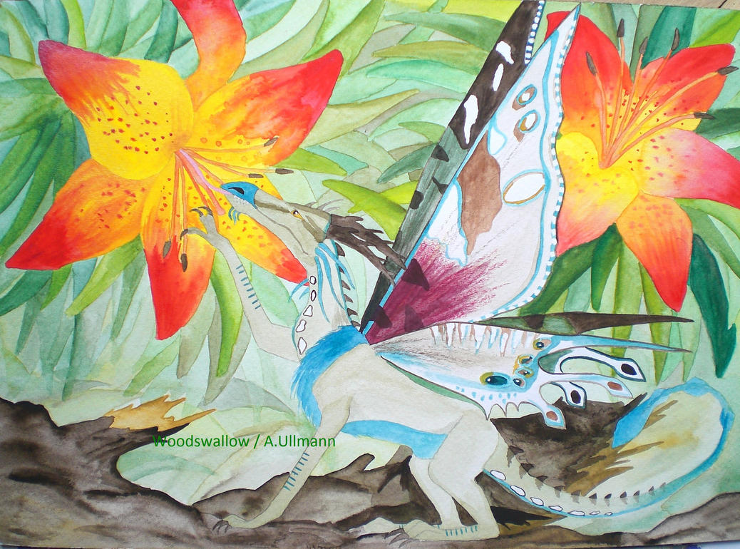 Dragon Lily By Woodswallow On Deviantart