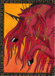 Tannira (ACEO) by Woodswallow