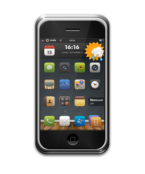 iPhone 2g - september by slacabos