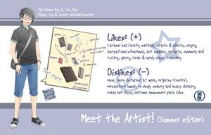 Meet the Artist (summer edition) by Kei-Seki